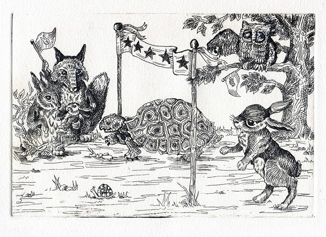 The Big Race: Tortoise and the Hare