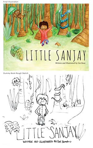 Little Sanjay (Front Cover) by Catherine Rose Sandus