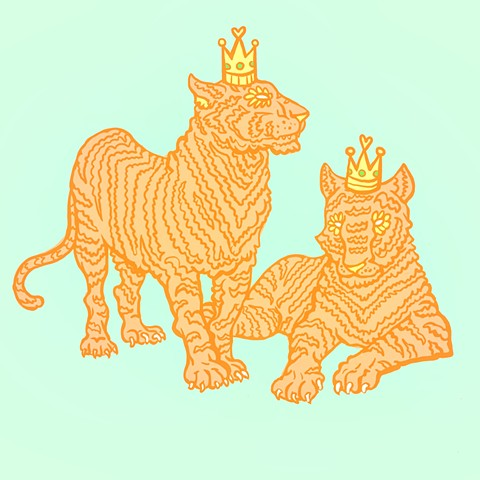 King and Queen Tiger