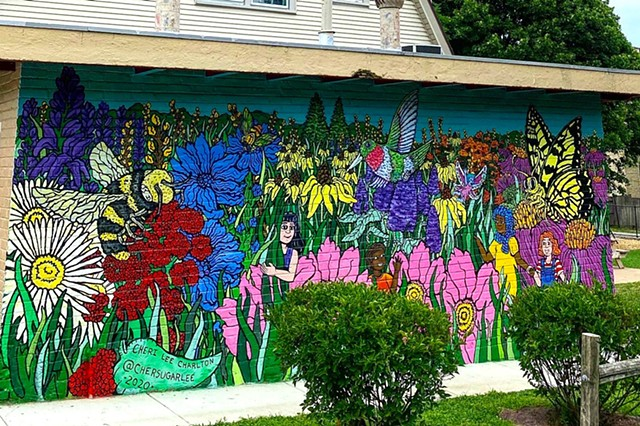 Ridgeville Park District Garden Mural