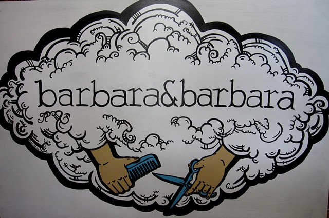 barbara&barbara business sign