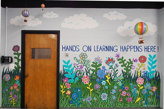 Hands on Learning Mural