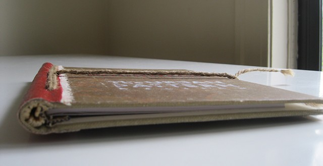 Artist Book: Artifact - Detail 1