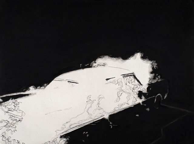 contemporary drawing, supernatural, car culture