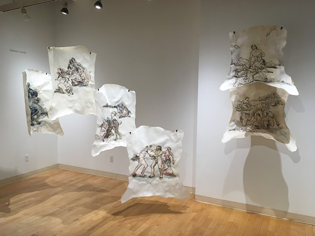 Psychomachia (Soul Battles), installation view, Bromfield Gallery