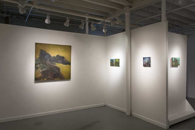 Stove Factory, installation view, 2015