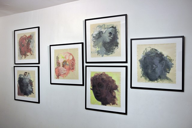 Heads (installation view)