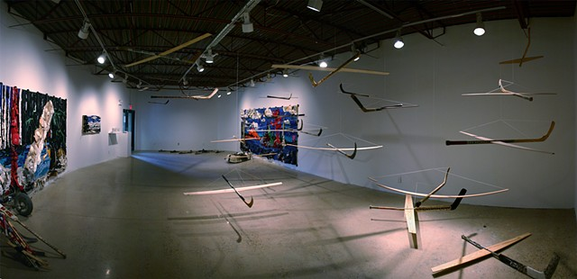 GAME ON! (installation view)