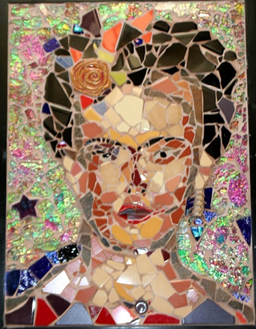 Frida Kahlo - Shattered Dreams  NFS Artist's Private Collection