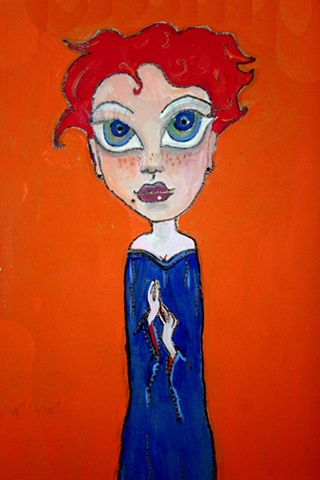 "Elle, who Viewed Herself as an Artistic Visionary, cried ""Plagiarism"" when Anyone used Her Signature Blue and Orange."