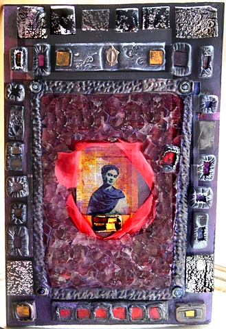 Frida Kahlo  Altar Piece SOLD