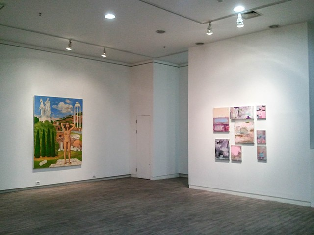 Vit Gallery, Seoul, South Korea | 2011  Installation (right wall) curated by Alex Choi