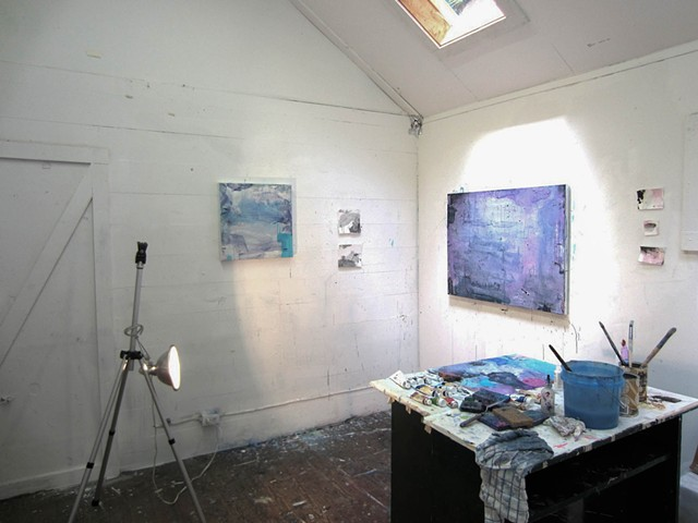 Studio at Byrdcliffe Art Colony