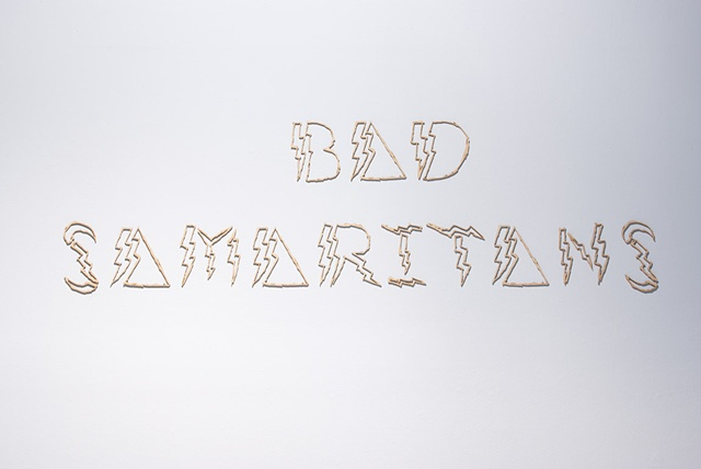BAD SAMARITANS  VOINA (RUSSIA) Kira O'Reilly (UK) Mia Bailey (Germany)  Curated by Alicia King  May 4 - June 3  CAST Gallery, Hobart, Tasmania.