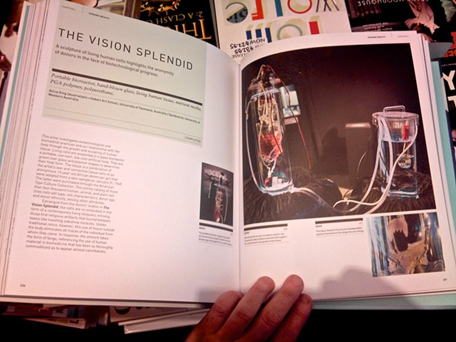 The Vision Splendid in MoMA NYC's new publication, Bio Design: Nature + Science + Creativity