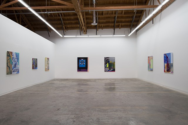 "installation view of ""The Constant Speed of Light"""