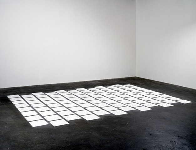 floor stencil installation