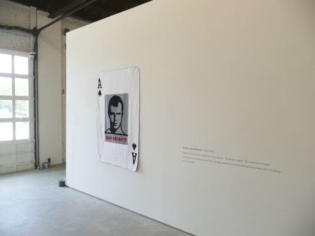 Installation shot from minor character