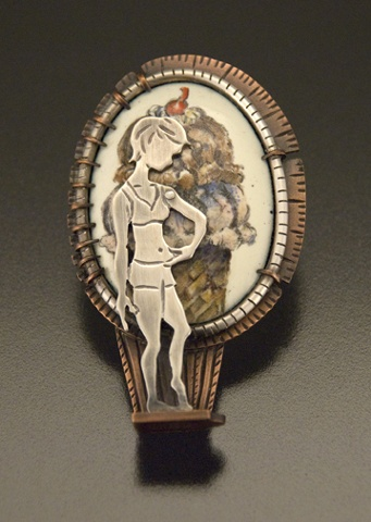Self Image Brooch