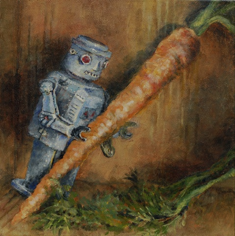 Carrot Tango: from the Robot-Produce War series