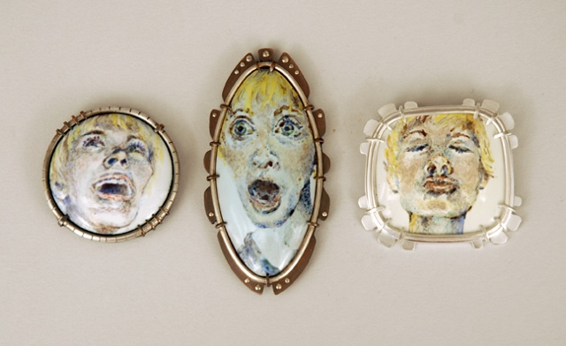 Grouping- from Self Portrait Brooch Series 2