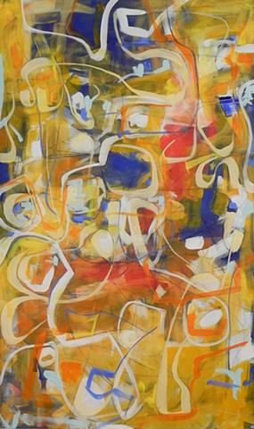 Abstract Painting, San Francisco Artist, Contemporary Art, Fine Art, Art Gallery