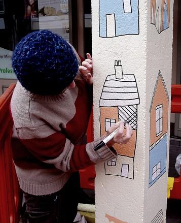 Wokingham town pillar