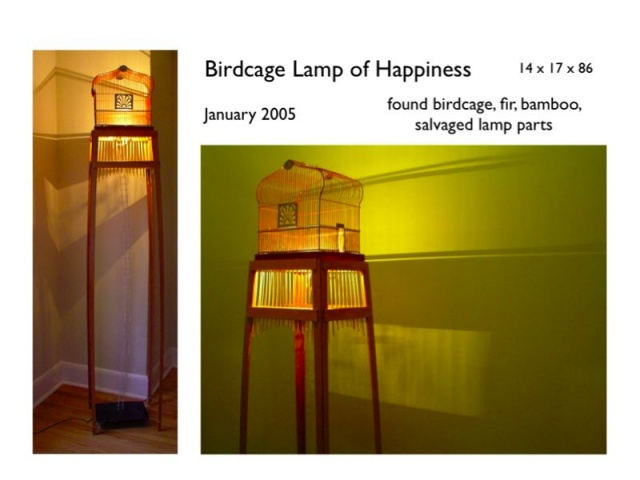 birdcage lamp of happiness