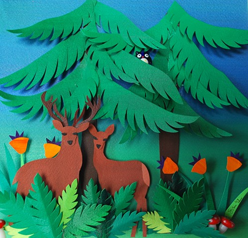 hand cut paper, paper art, paper artist, paper sculpting, paper sculpture, paper craft