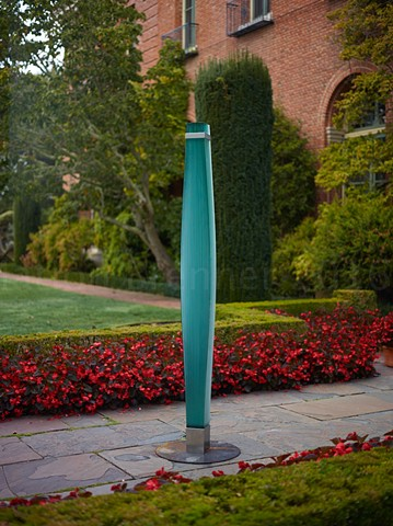 Rik Ritchey, glass sculpture, Filoli Gardens, art