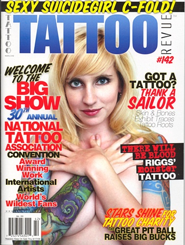 Tattoo Revue Magazine Cover