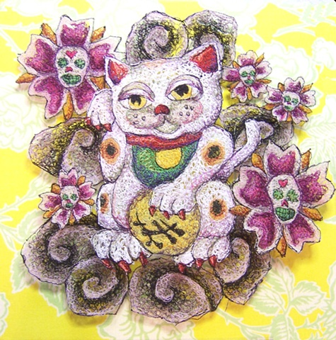 Lucky Cat - Maneki Neko