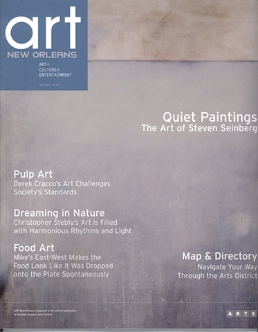 Art New Orleans Magazine Cover