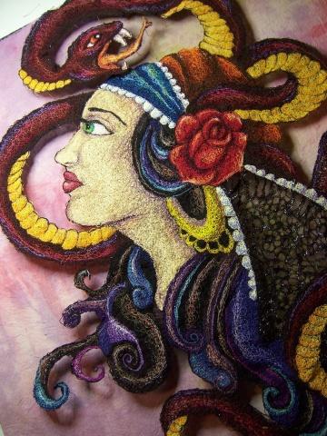 Gypsy woman