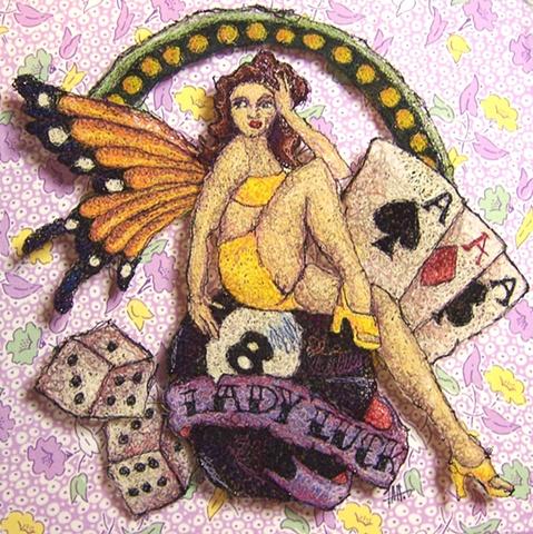 Butter Fly Girl