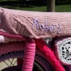 HAND KNIT MOTORCYCLE COZY