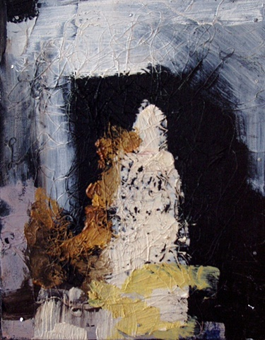 abstract, figurative, oil, painting, acrylic, mixed media