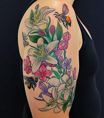 Bay Area Tattoo Artist Adam Sky