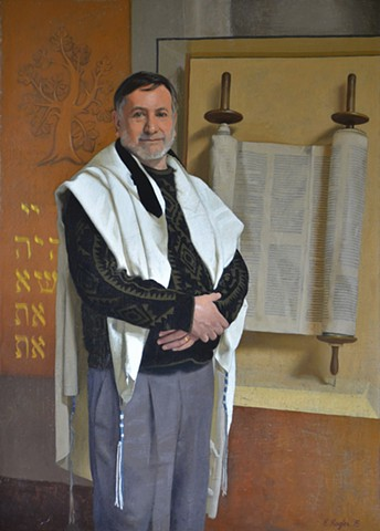 Rabbi Scott Kramer of Agudath Israel Etz Ahayem Synagogue