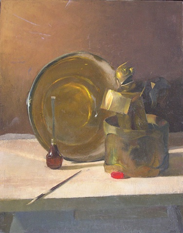 Still-life with Clown