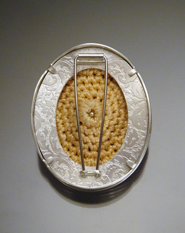 Womb Brooch #4 (back)