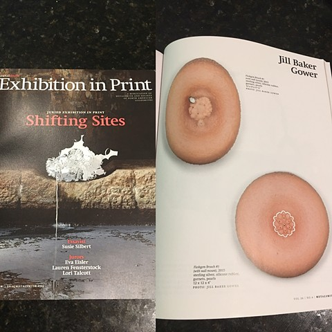 Exhibition in Print - Metalsmith magazine