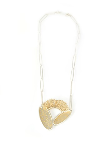 Golden Reflection Necklace #3