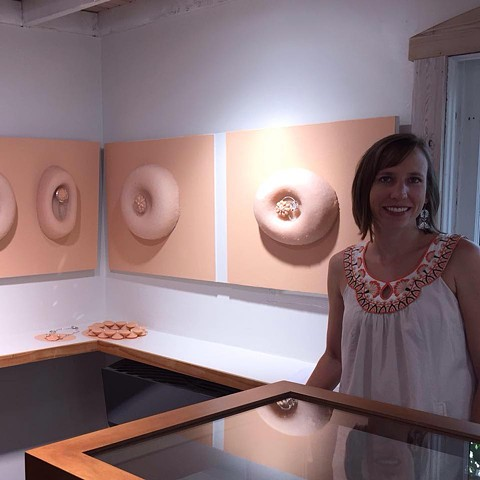 10/15/2015 - I was interviewed by Olivia Shih for the Art Jewelry Forum Website.
