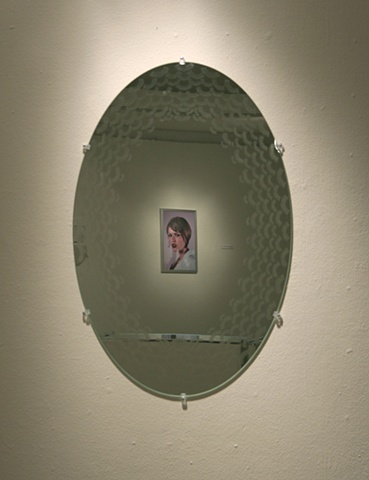 Fake Eyelash Mirror