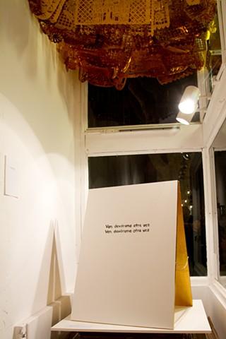 Installation at Asterisk SF Gallery