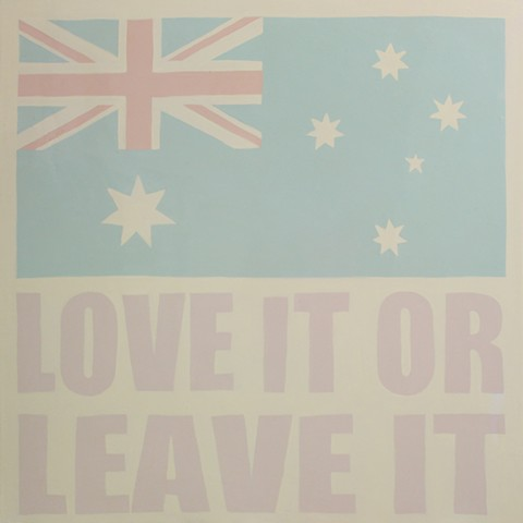 Australia- Love it or leave it