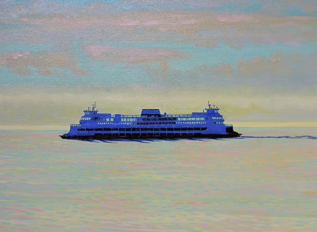 Ferry in thePuget Sound