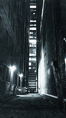 Late Night, Chicago Loop Alley