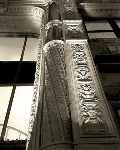 Detail of the Wrigley Building